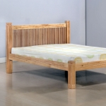 4ft 6 Forest Chunky Hardwood Bedstead