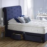4ft 6 Healthbeds Comfort 4000 Pillowtop 2 Drawer Divan