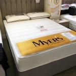4ft 6 Myers Marseille Comfort 2 Drawer Divan Set