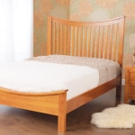 5ft Grant Wooden Bed in Cherry