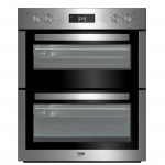 BEKO BTF26300X STAINLESS STEEL ELECTRIC BUILT UNDER DOUBLE OVEN