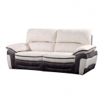 Bari Leather 3 Seater Sofa