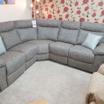 Corner Sofa Power Recliner