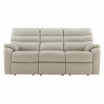 G Plan Upholstery Browning Leather 3 Seater Sofa