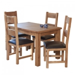 Hampshire Oak Extending Table & 4 Chairs