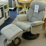 Hampton Reclining Chair and Stool
