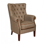 Hexham Chair Harris Tweed