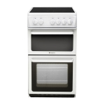 Hotpoint Electric Cooker HAE51PS