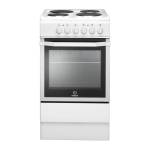 Indesit Electric Cooker I5ESHW