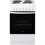 Indesit Electric Cooker IS5E4KHW