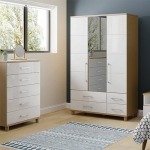 KT Furniture Halo Wardrobes and Chests
