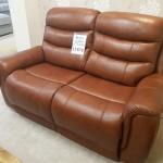 La-Z-Boy Sheridan 2 Seater Leather Electric Recliner Sofa