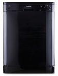 Montpellier DW1254k Black Dishwasher