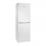 Montpellier MFF170 Fridge Freezer in White