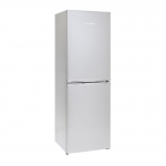Montpellier MFF170 Fridge Freezer in Silver