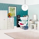 One Call Furniture Calando Cream Bedroom Furniture