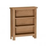 Royal Oak Small Wide Bookcase
