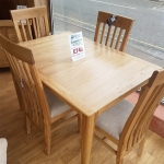 Scandinavia Extending Table and 4 Chairs