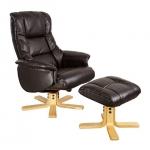 Shanghai Swivel Chair with Free Stool