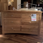 Sleepcraft Knightsbridge 6 Drawer Long Multi Chest