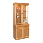 Sutcliffe Trafalgar 2 Door Display Cabinet