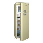 Swan SR11010CN Retro Cream Fridge Freezer