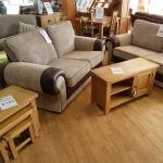 Tango 3 Seater Fabric Sofa