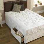 """Topaz 4ft 6"""" End Drawer Divan Bed"""