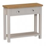 Truffle Oak Console Table