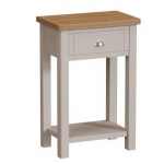 Truffle Oak Telephone Table