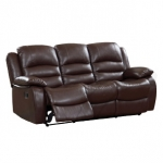 Venice 3 Seater Double Reclining Sofa