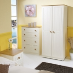 Welcome Furniture Warwick Cream and Oak Furniture